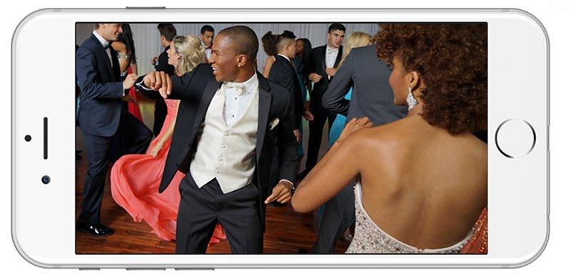 prom pix phone
