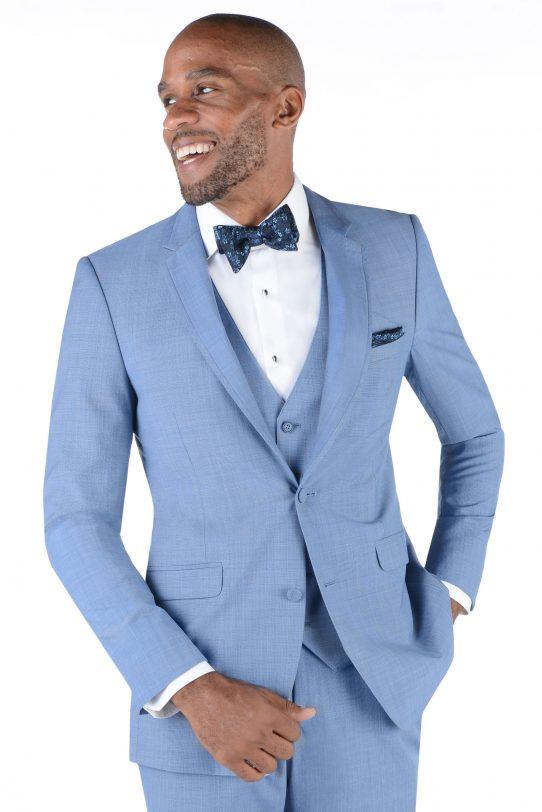 All Styles Cornflower Blue Brunswick by Allure Men