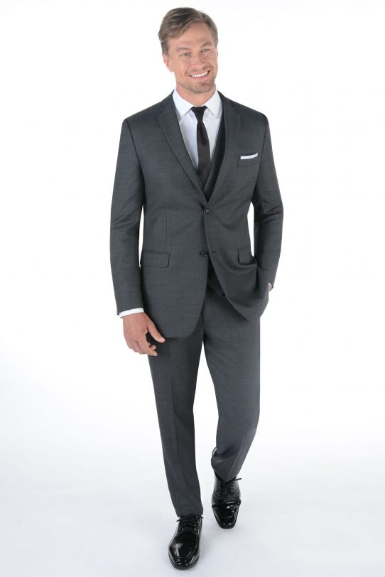 All Styles Charcoal Grey Manhattan by Ike Behar