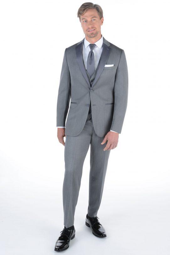 [category] Grey Wedding Suit by Ike Behar