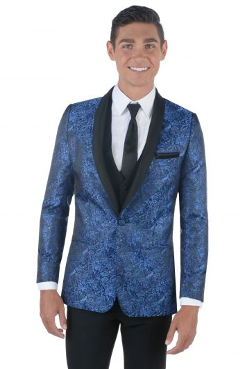 All Styles Cobalt Paisley Aries by MOD