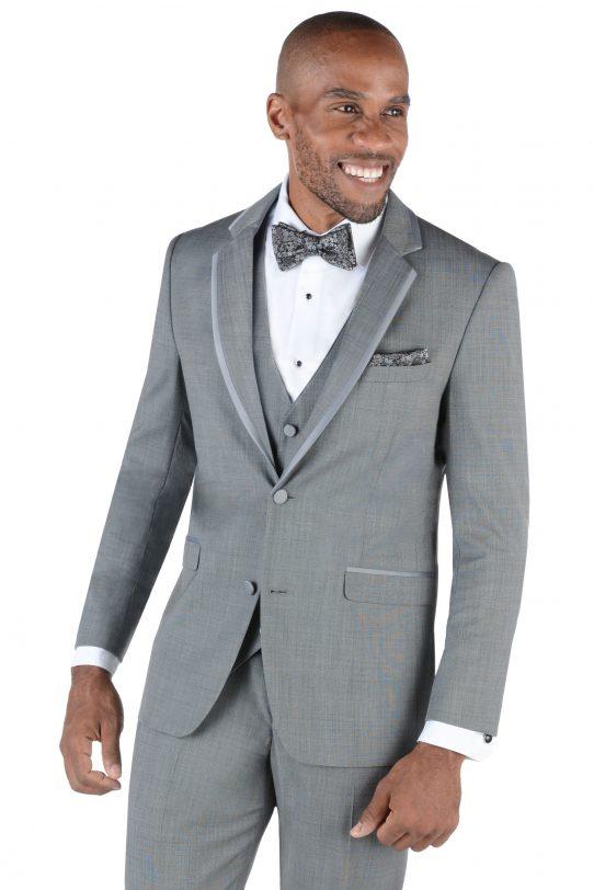 [category] Shale Wedding Suit by Allure Men