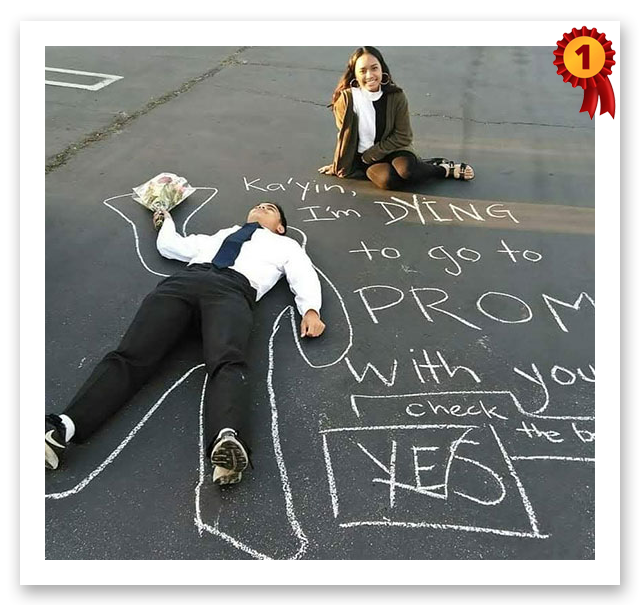 2019 Promposal first place winner image