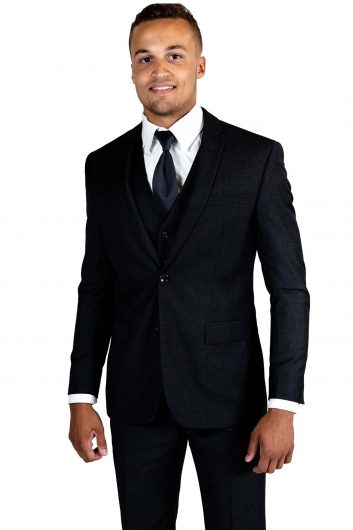 All Styles Black Suit by Savvi Black Label