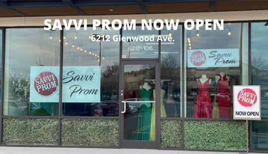Savvi Prom Raleigh NC Store Front Image