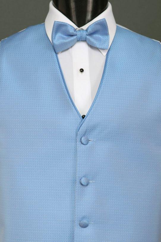 Vests Cornflower Sterling Vest