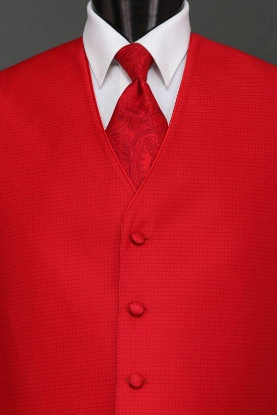Ferrari Red Sterling Vest