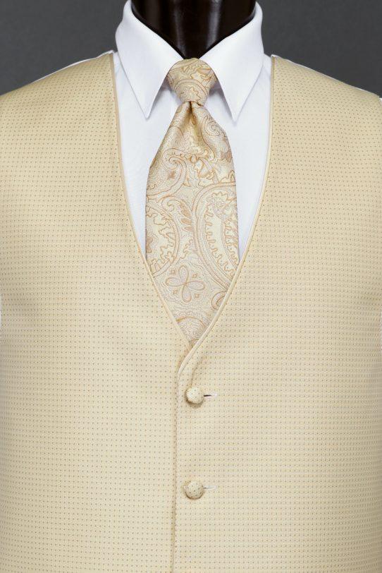 Vests Gold Sterling Vest – Paisley Tie | Savvi Formalwear