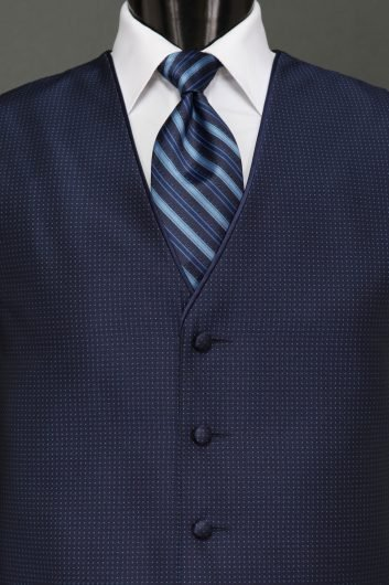 Midnight Blue Sterling Vest