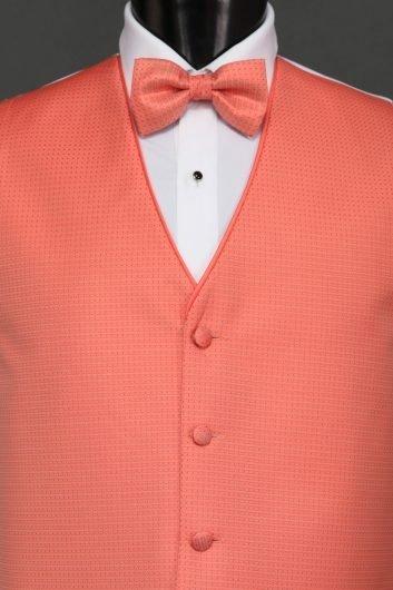 Vests Palm Beach Coral Sterling Vest – Bow Tie | Savvi Formalwear
