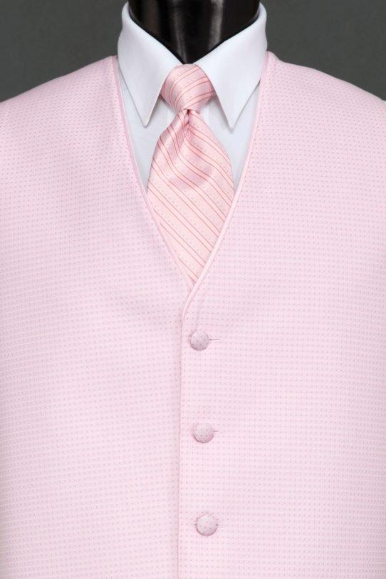 Vests Petal Pink Sterling Vest