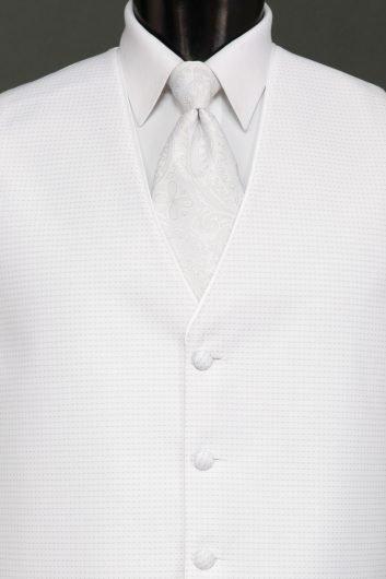 White Sterling Vest