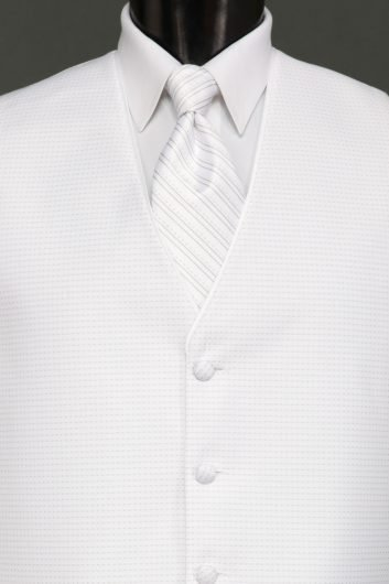 Vests White Sterling Vest