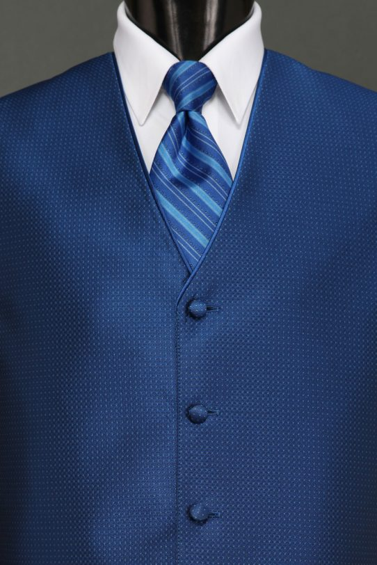 Royal Blue Sterling Vest