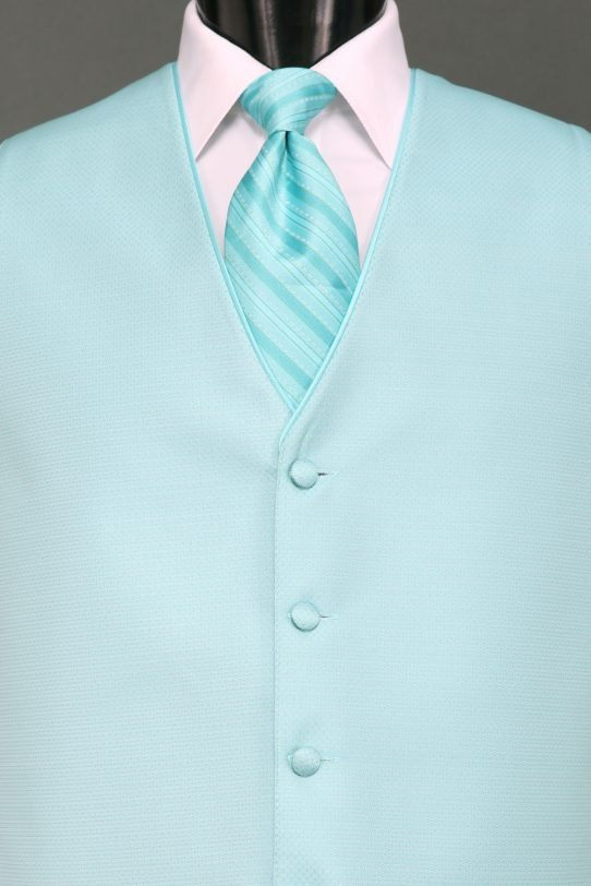 Tiffany Blue Sterling Vest