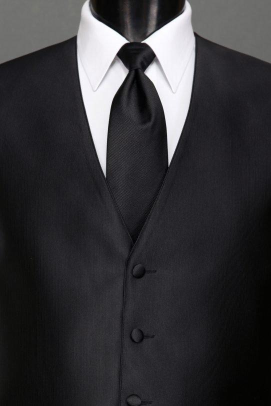 Black Reflections Vest