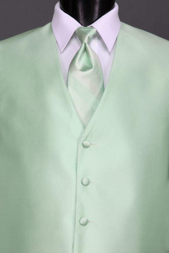Pistachio Reflections Vest