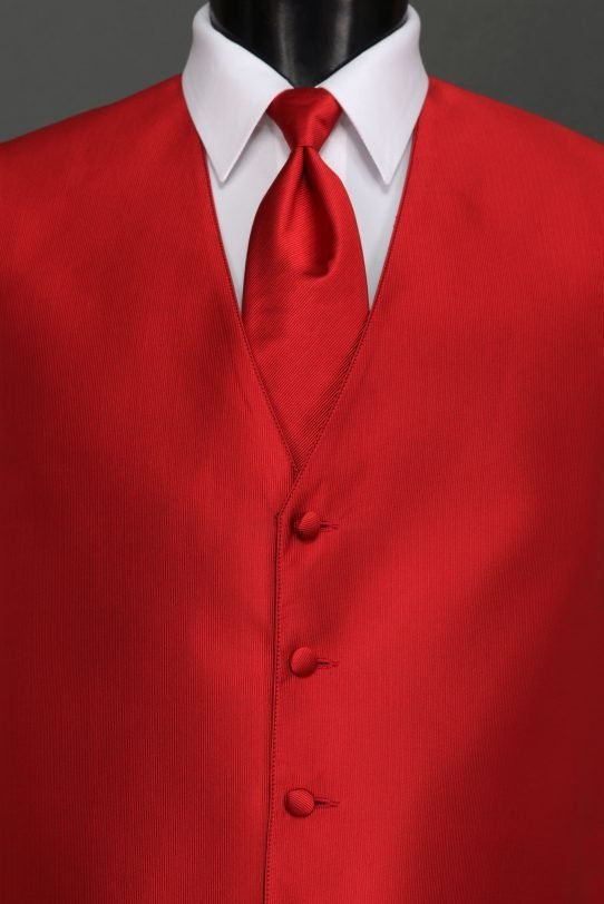 Ruby Reflections Vest