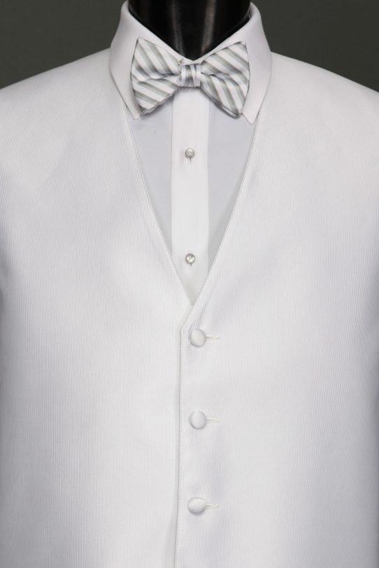 White Reflections Vest