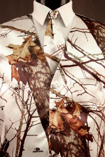 Winter White Camouflage Vest