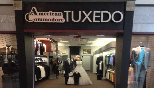 American Commodore Akron Chapel Hill Mall storefront