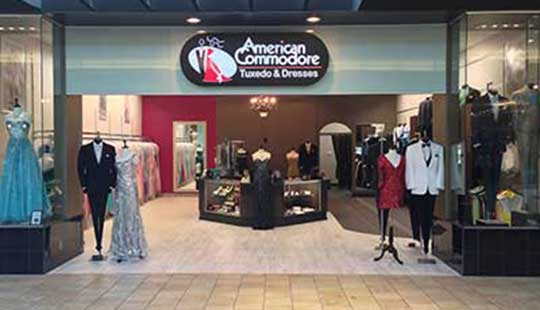 American Commodore Summit Mall Akron storefront