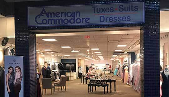 American Commodore Youngstown Southern Park Mall storefront