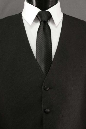 Black Bradbury Vest