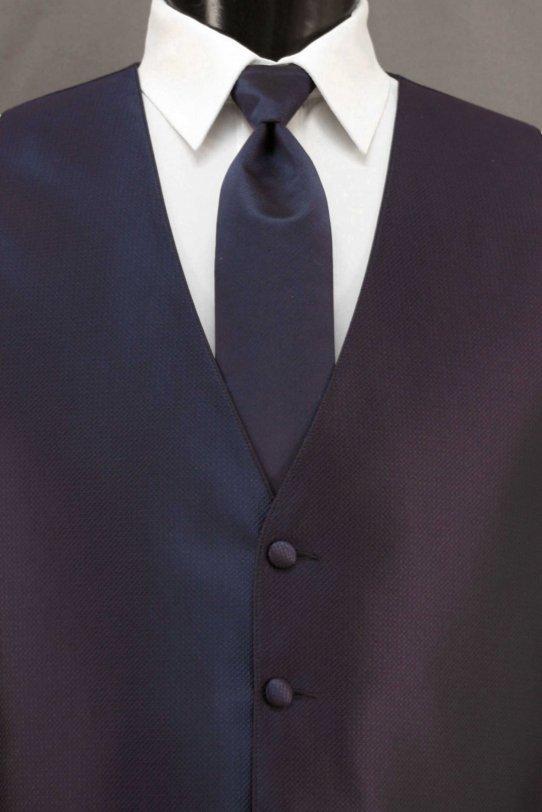 Navy Bradbury Vest