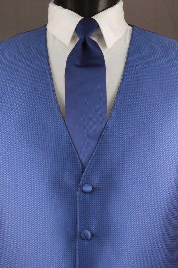 Royal Blue Bradbury Vest