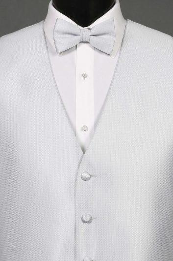 Silver Bradbury Vest