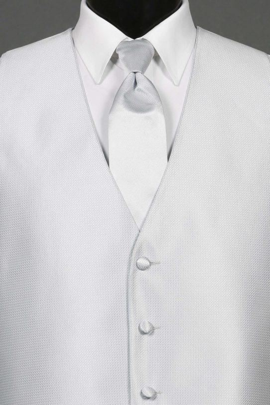 Vests Silver Bradbury Vest