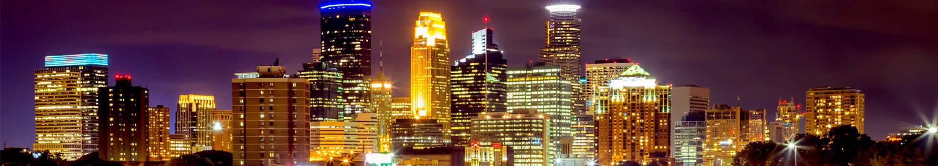 MSP, MN cityscape