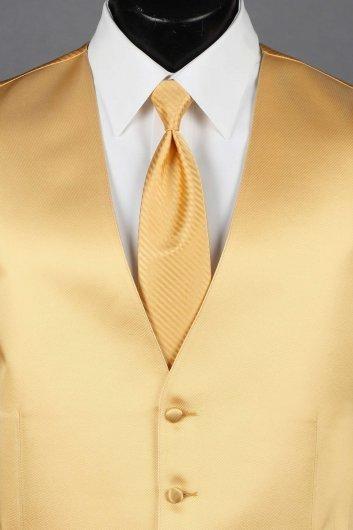 Gold Solid Vest