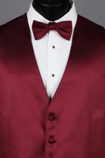 Wine Solid Vest