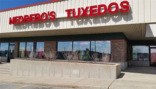 nedrebo's tuxedos store front in madison wisconsin - 2