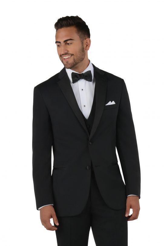 All Styles Black Classic Tuxedo by Savvi Evening Collection