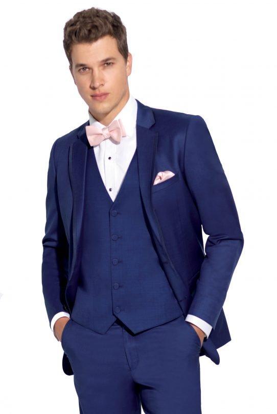 Cobalt Blue Brunswick suit image