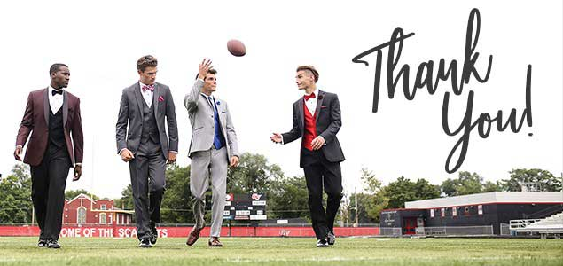 homecoming thank you image