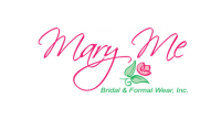Mary Me Bridal & Formal Wear map logo